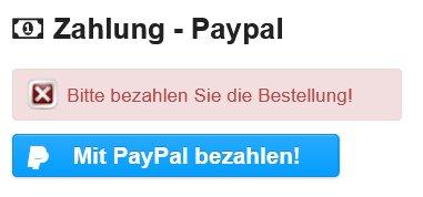 PayPal Verwaltung