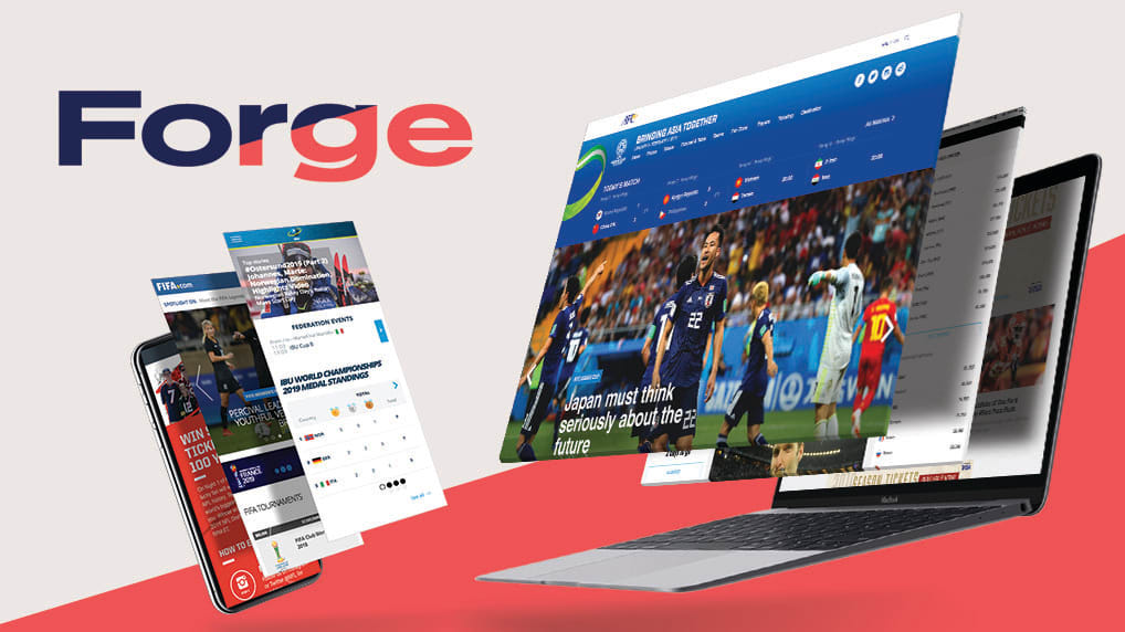 Forge New release_website