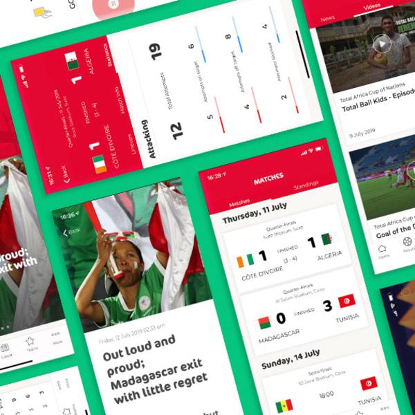CAF 2019 - website