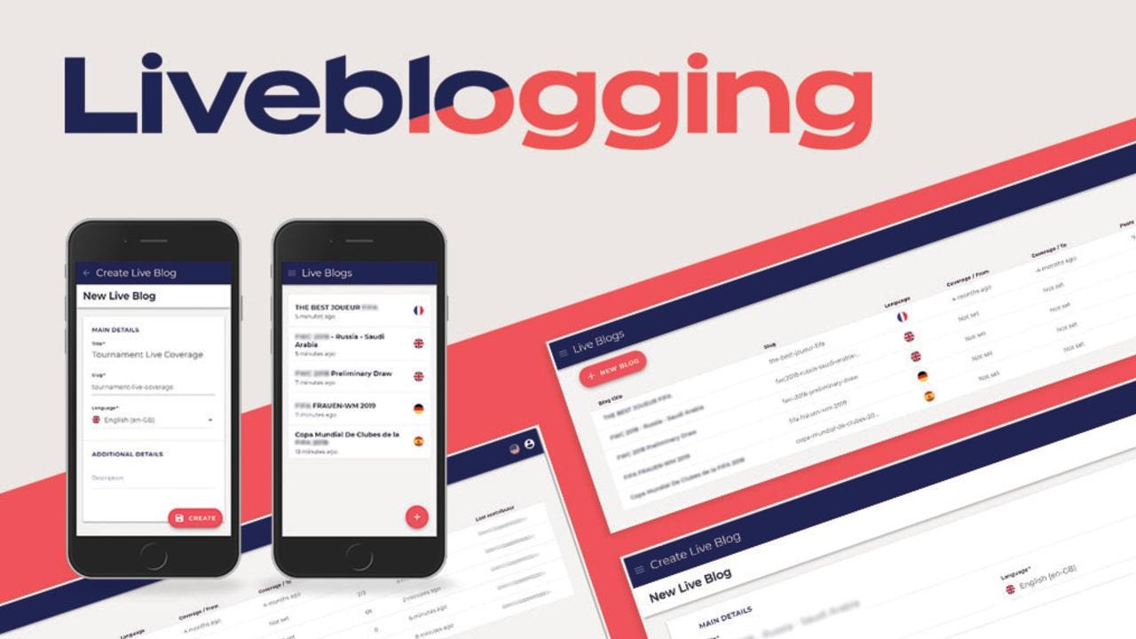 Liveblogging New release_website 05