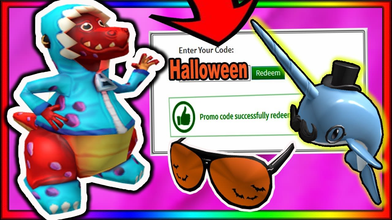 *NEW* HALLOWEEN! ALL NEW ROBLOX PROMO CODES 2020!