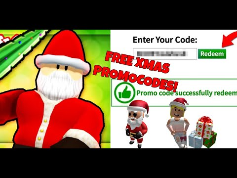 **NEW** Christmas ROBLOX PROMO CODES 2019! | All DECEMBER 2019 ROBUX CODES!
