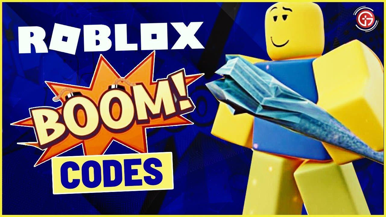 New Roblox Boom Codes 2021 February | Boom Codes New Update | Roblox Promo Codes
