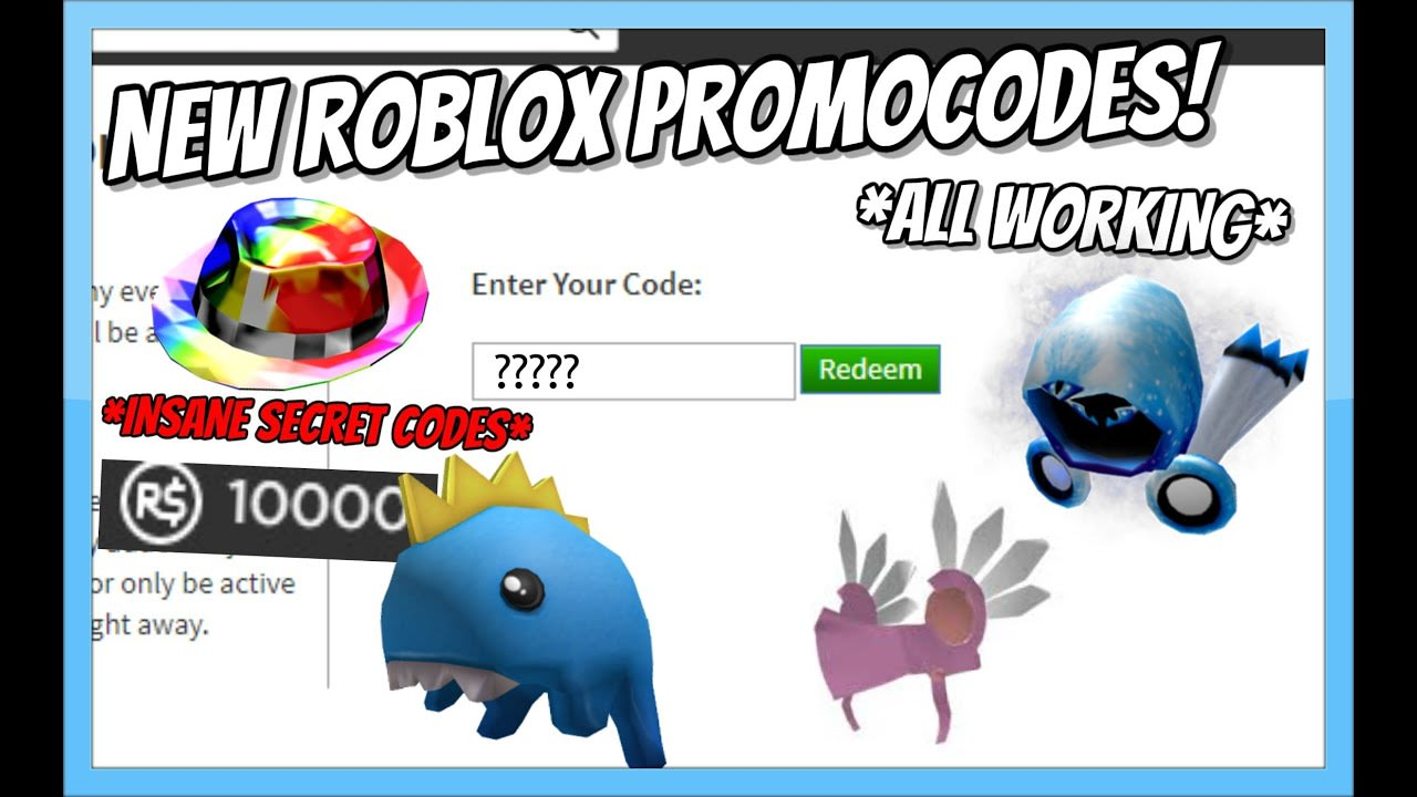 ALL *NEW* ROBLOX PROMO CODES! *OCTOBER 2020* [Roblox]