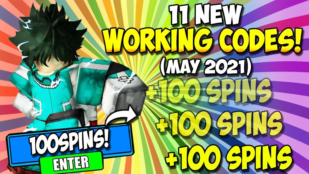 *NEW* WORKING CODES IN MY HERO MANIA! ALL WORKING MY HERO MANIA CODES ROBLOX! (May 2021)