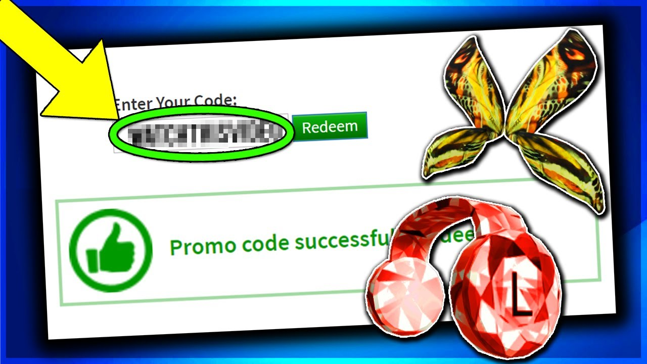 ALL ROBLOX PROMO CODE ON ROBLOX 2019 (JULY)FREE WING!