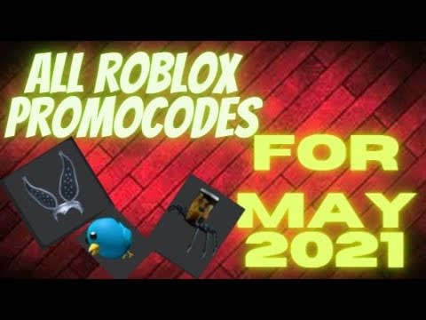 All Roblox Promocodes For May 2021!!