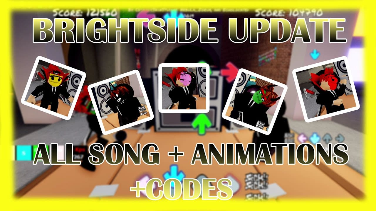 FUNKY FRIDAY [BRIGHTSIDE UPDATE] | ALL SONG + ANIMATIONS + CODE