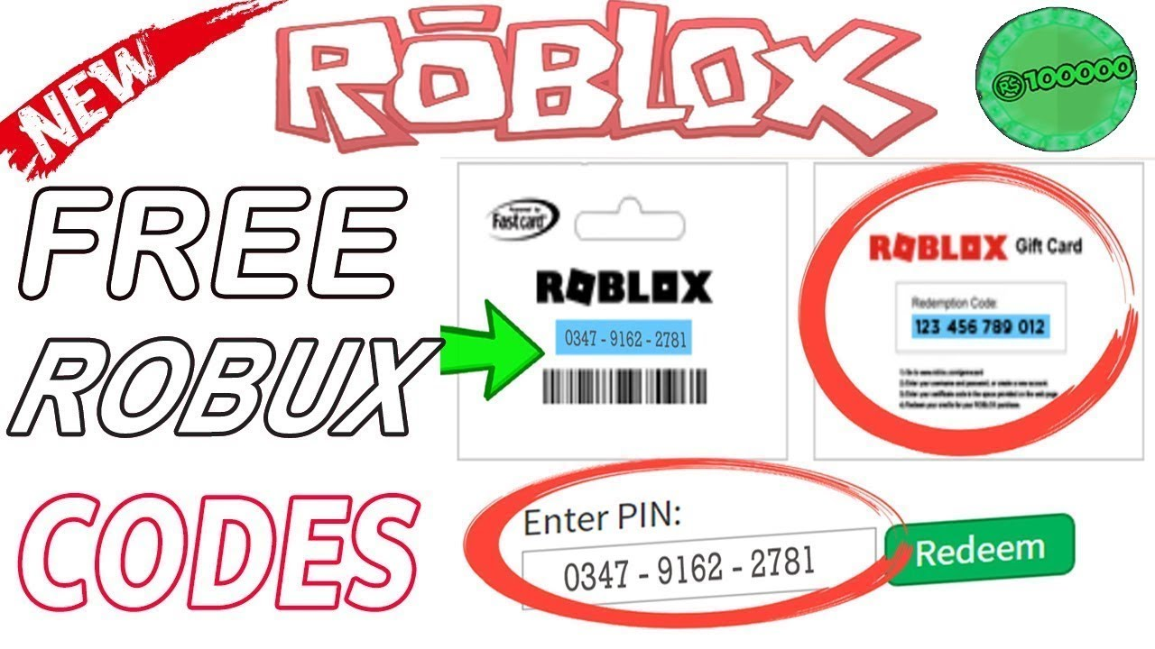 New Free Roblox codes 2019 Robux Gift Cards promo codes *Last Update*