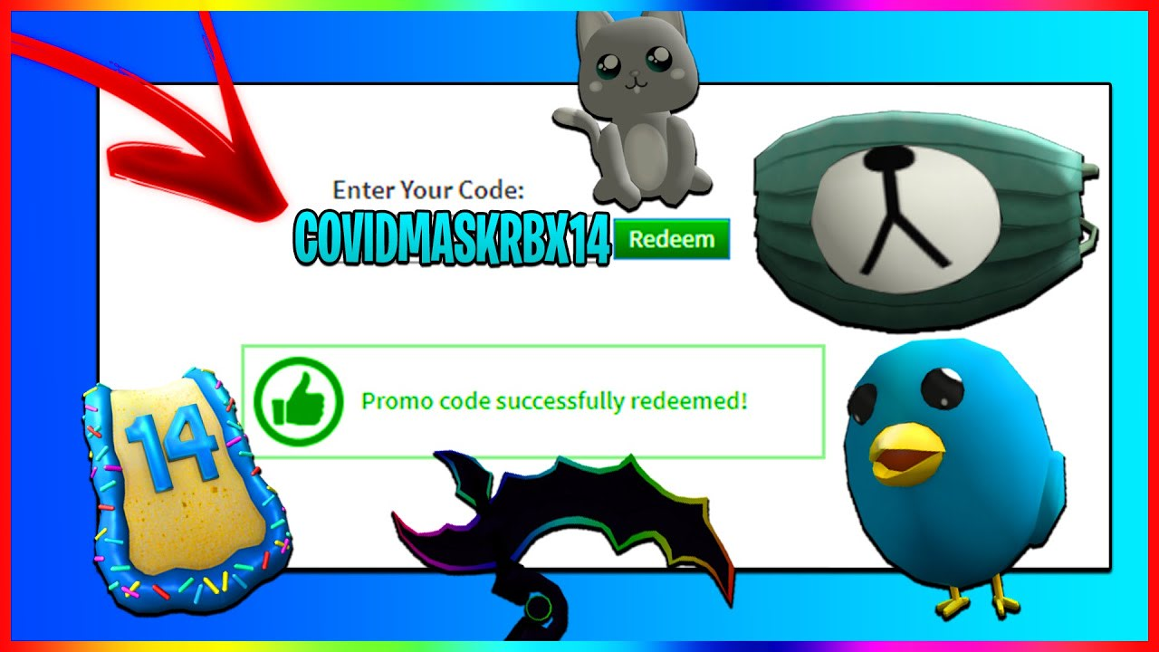 ALL NEW PROMO CODES in ROBLOX! (September 2020)