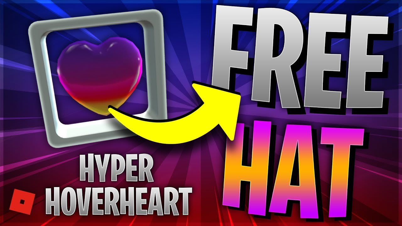 ROBLOX INSTAGRAM EVENT! FREE Promo Code for HYPER HOVERHEART! (Roblox FREE HATS 2020)