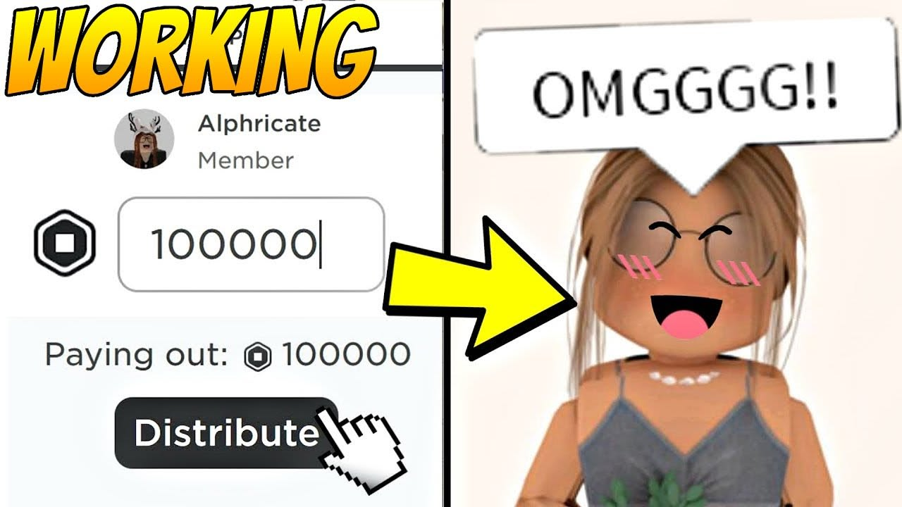 *REAL* How To Get FREE ROBUX Using SECRET ROBUX METHOD!? (Proof At End!)   No Passwords, No Inspect