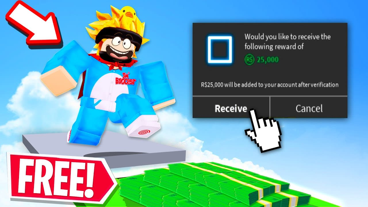 THESE ROBLOX GAMES GIVE YOU FREE ROBUX!! (Free Robux Games)