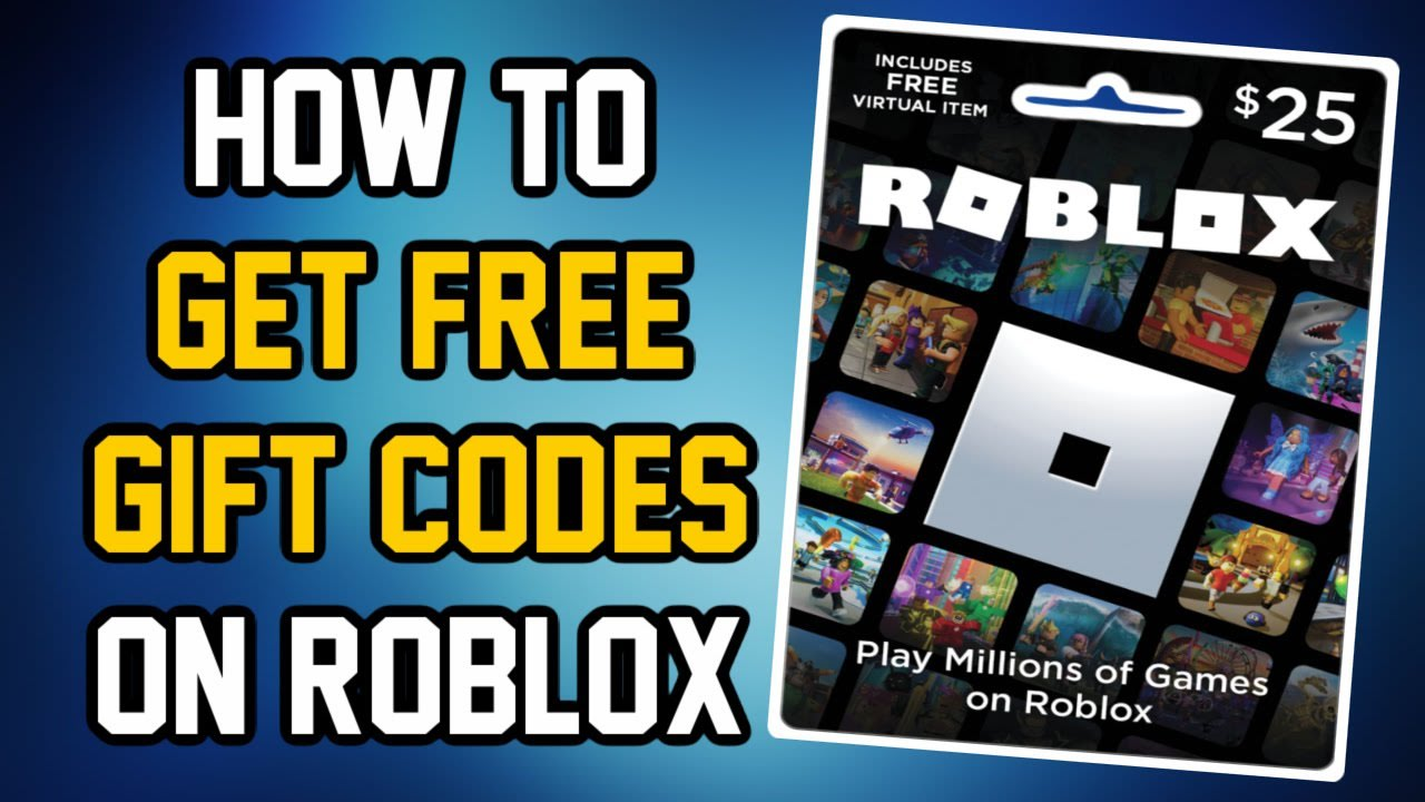 HOW TO GET FREE ROBUX GIFT CARD CODES 2021 (No Human Verification Free Roblox Gift Card Promo Codes)