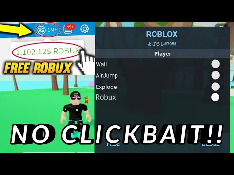 Download Roblox Mod Apk Unlimited Robux!UPDATE NO CLICKBAIT!!