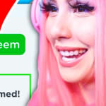 LEAH ASHE GIVES ME ALL NEW ROBLOX PROMO CODES IN