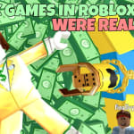 If Free Robux Games In ROBLOX Were Real