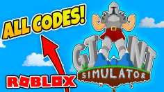 -EXPIRED- CODES GIANT SIMULATOR – Destroying Noobs! (Roblox)