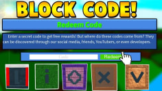 CODE BLOCK *REDEEMED*| Build a boat For Treasure ROBLOX