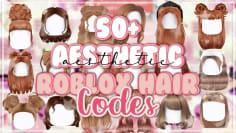 50+ Aesthetic brown hair codes for Bloxburg | Roblox