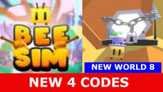 * NEW UPDATE CODES * [WORLD 8!] Bee Simulator ROBLOX
