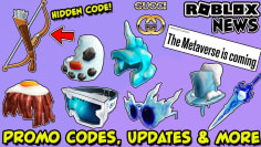 ROBLOX NEWS: WORKING PROMO CODES, NEW BONUS ITEMS, GUCCI TAKEOVER,