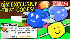 *NEW* My EXCLUSIVE & OP CODES – FREE Legendary Bees!