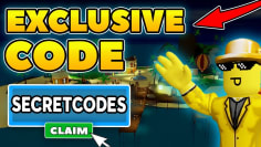 *EXCLUSIVE CODE* ALL 3 FISHING SIMULATOR CODES (Roblox)