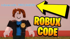 I put a FREE ROBUX CODE in my Roblox Jailbreak