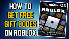 HOW TO GET FREE ROBUX GIFT CARD CODES 2021 (No