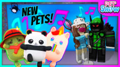 Roblox Pet Show, New Pets, Codes & a Jumpscare?!