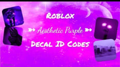 ROBLOX | Welcome to Bloxburg: Aesthetic Purple ID Codes
