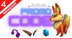 4 Promo Codes ROBLOX (October 2020)