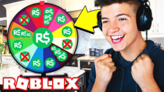 SPIN THE WHEEL and win FREE ROBUX!?
