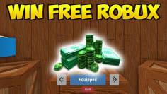 WIN FREE ROBUX!!! In Roblox Treasure Hunt Simulator