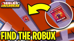 HIDDEN ROBUX CARD IN JAILBREAK!   3   FIND THE