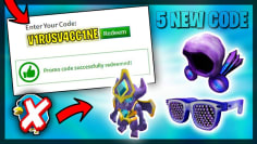 *5 Code!?* ALL NEW PROMO CODES in ROBLOX !?! (August