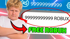 this little kid shows us how to get free robux….