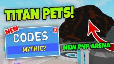 NEW CODES – TITAN PETS IN GOD SIMULATOR (Roblox)