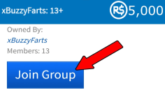JOINING THIS GROUP GAVE ME FREE ROBUX