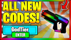 ALL *NEW* MURDER MYSTERY 2 CODES ON ROBLOX, NEW MURDER