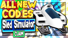 (2021) ALL *NEW* SECRET OP CODES! Sled Simulator Roblox
