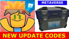 NEW UPDATE CODES *METAVERSE AND NEW CODES* [METAVERSE] Unboxing Simulator