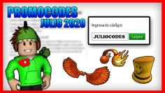 TODOS LOS PROMOCODES DE ROBLOX GRATIS JULIO 2020✅ | ROBLOX