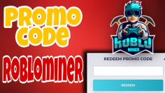 [Free Robux] How to get Promo code in Roblominer! ||