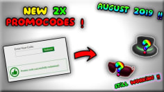 2 NEW WORKING ROBLOX PROMO CODES !! (August 2019)