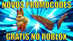 *NOVOS* PROMOCODES NO ROBLOX