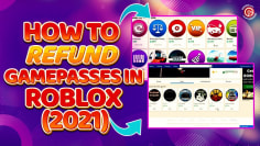HOW TO REFUND ITEMS IN ROBLOX 2021  Free Robux