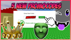 "*ALL 5 NEW* ROBLOX FREE PROMOCODES! ""SECRET"" 