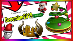 ALL *DECEMBER 2019* NEW ROBLOX PROMO CODES! [WORKING]